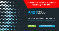 THE ARBS 2020 EXHIBITION IS POSTPONED TO FEBRUARY 15-17, 2021