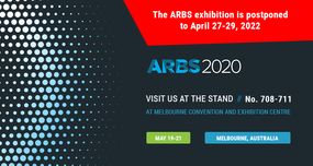 The ARBS 2020 exhibition is postponed to April 27-29, 2022