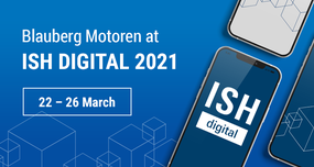 Blauberg Motoren will participate in ISH digital 2021