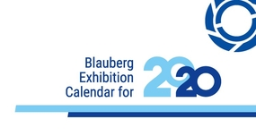 Blauberg Exhibition Calendar for 2020