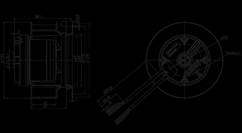 backward curved  u00d8 133 mm ec centrifugal fans manufacturer