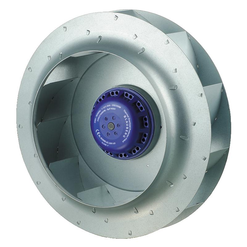 Centrifugal Fan Curve : Backward curved Ø mm ac centrifugal fans manufacturer